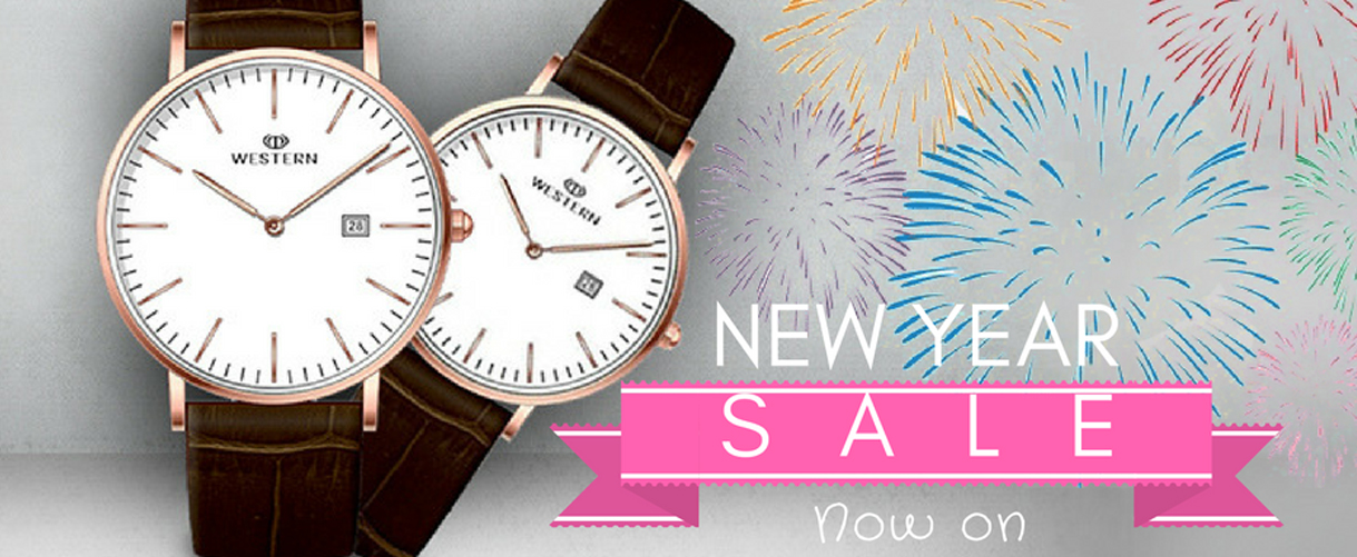 This New Year Get Your Perfect Watch With Discount!